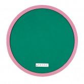 환경정리판 (원형 분홍) - 小