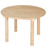 Round Desk (5-7) (Birch)